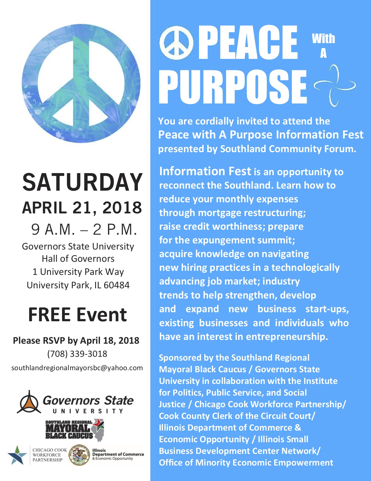 4.21.18 PeaceWithAPurpose Flyer (Updated)