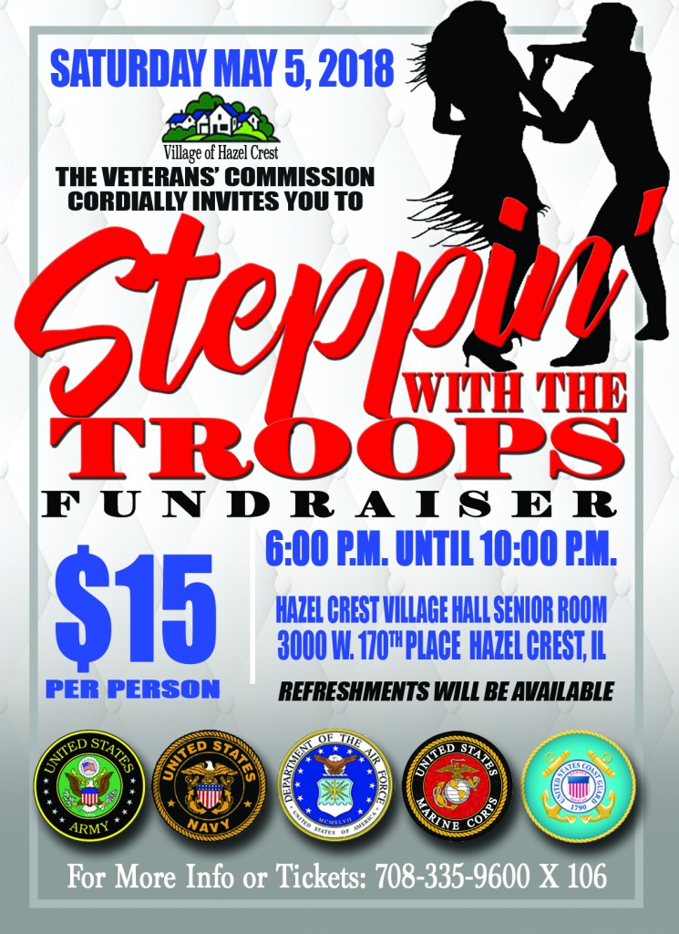 5.5.18 Stepping With The Troops