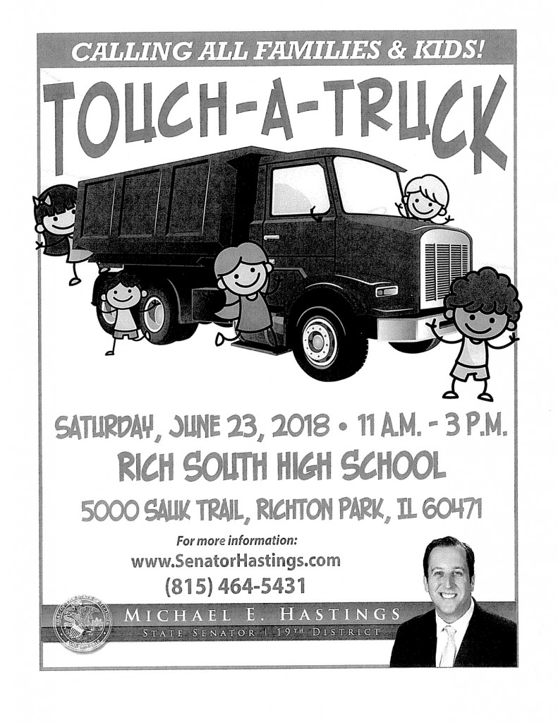 6.23.18 Touch-A-Truck (from Sen. Hastings)
