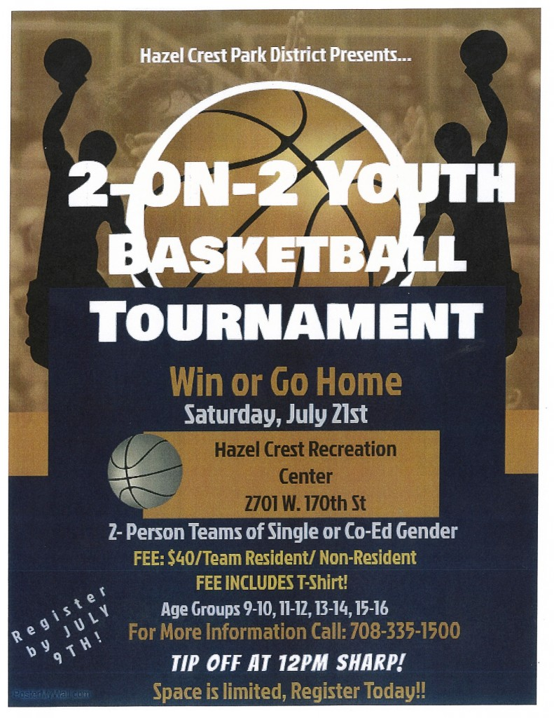7.21.18 2-on-2 Basketball Tournament (Park District)