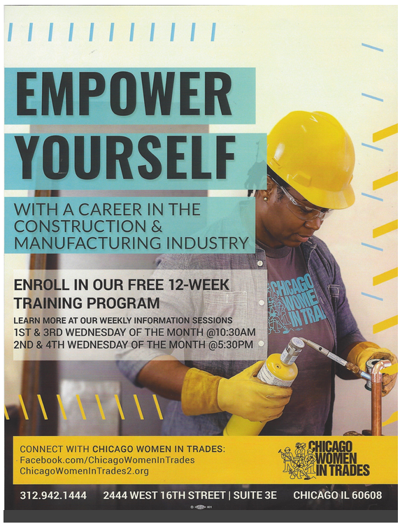 Chicago Women in Trades (Free Training Program)