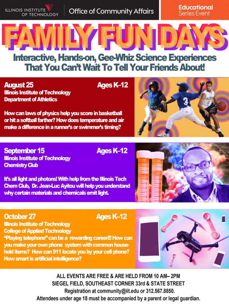 IL Institute of Tech - Family Fun Days (Aug 25, Sept 15 & Oct 27) (1)