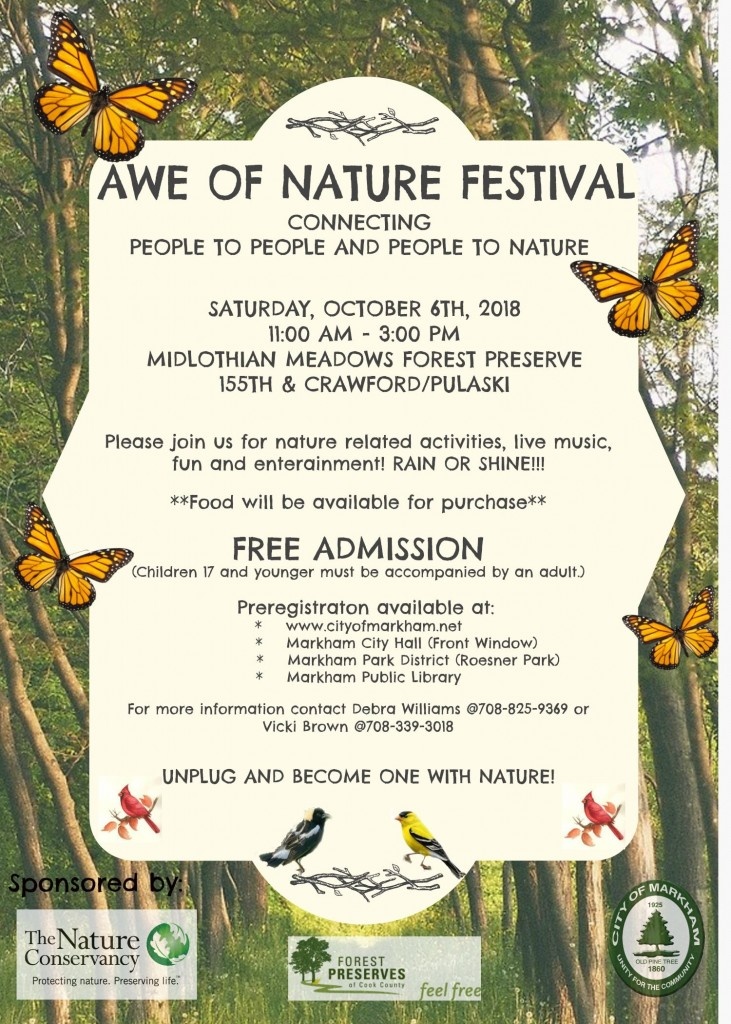 10.6.18 Awe of Nature Festival (Markham)