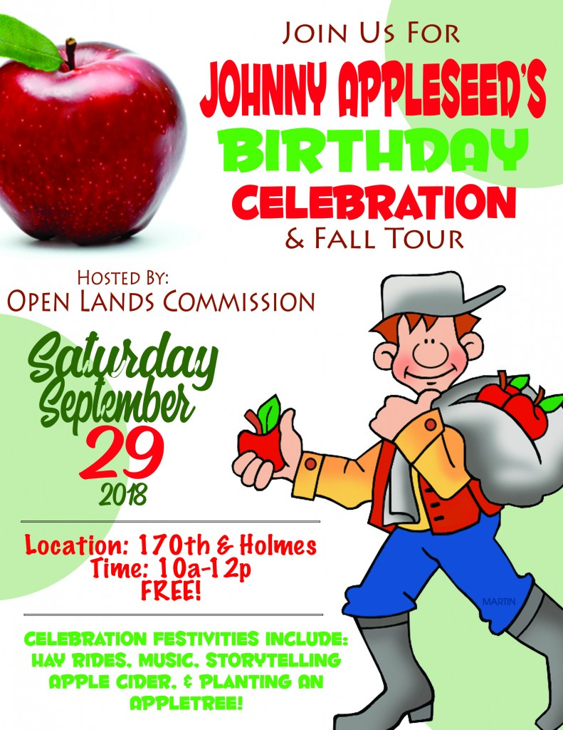 9.29.18 Johnny Appleseed & Fall Tour