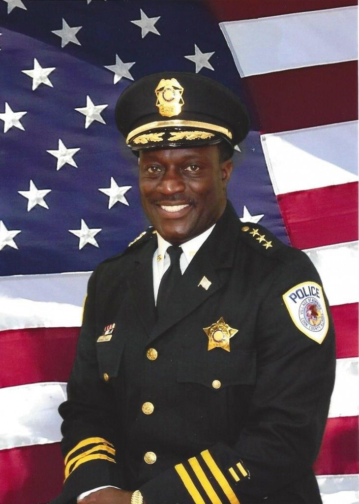 Chief Mitchell R. Davis III<br> Village Police Chief