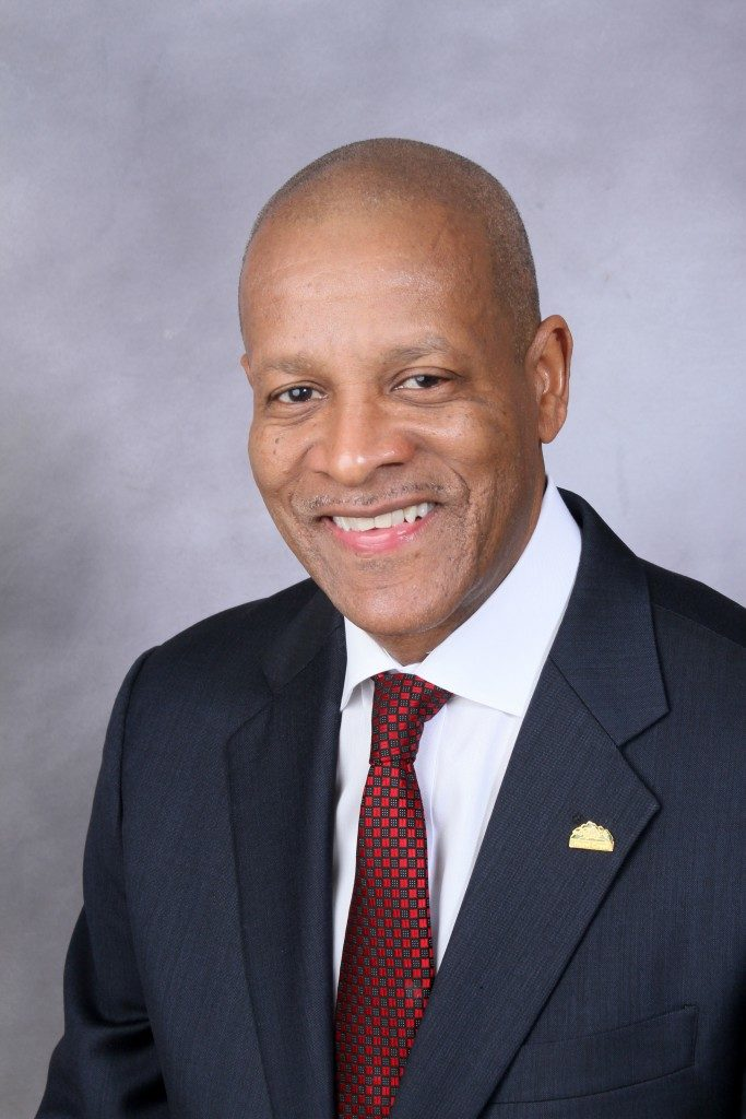 Vernard L. Alsberry Jr. <br> Village President