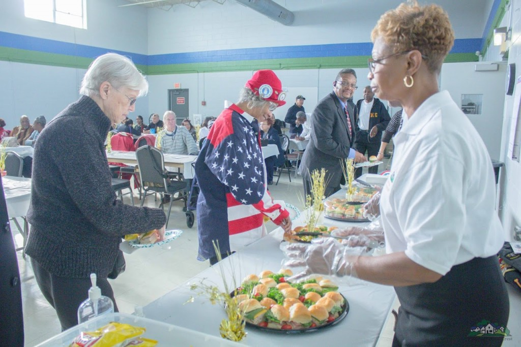 The event was well attended by veterans, their families and other guests.