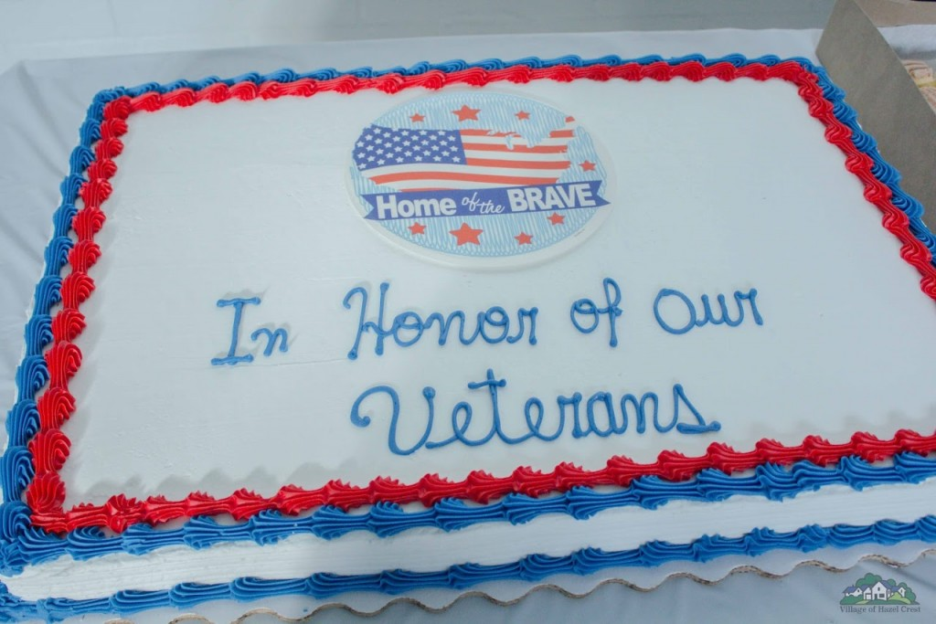 Members of the Veterans Commission hosted a luncheon November 10th in observance of Veterans Day.