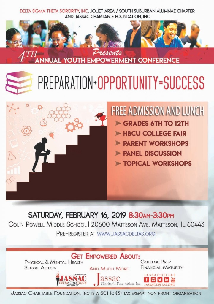 2.16.19 Youth Empowerment Conference flyer