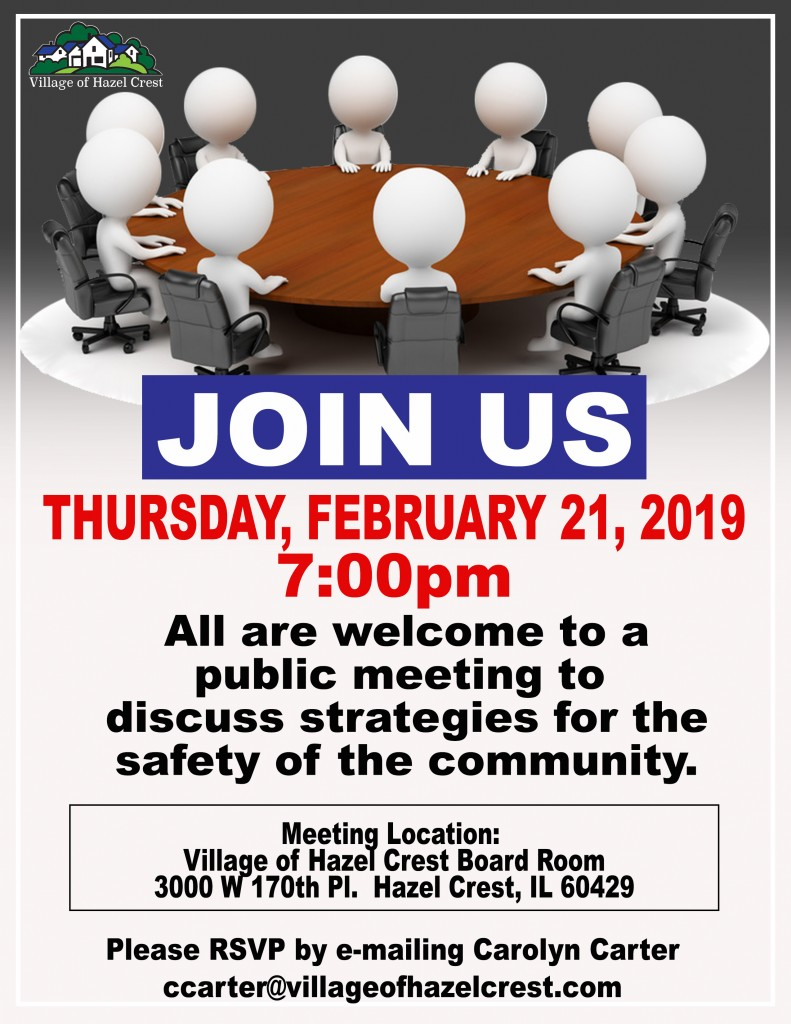 2.21.19 Safety Meeting