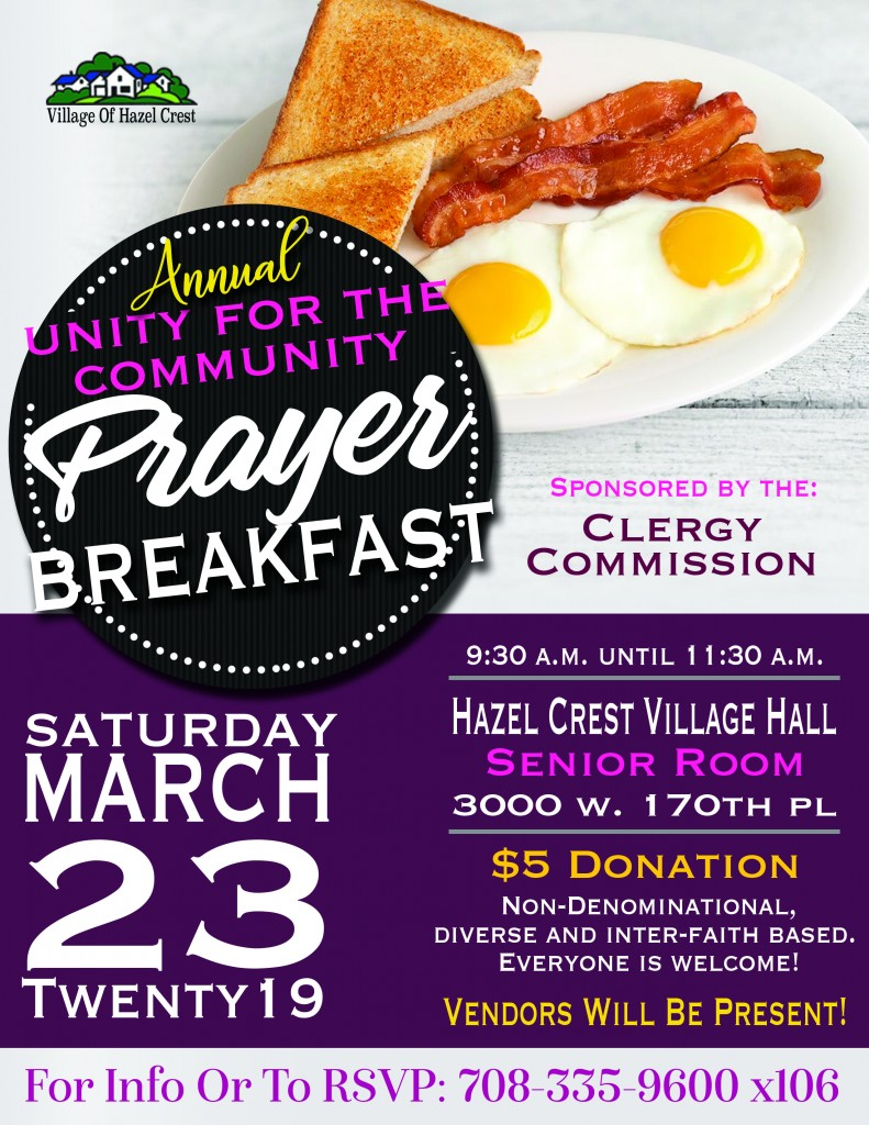 3.23.19 Clergy Commission Prayer Breakfast